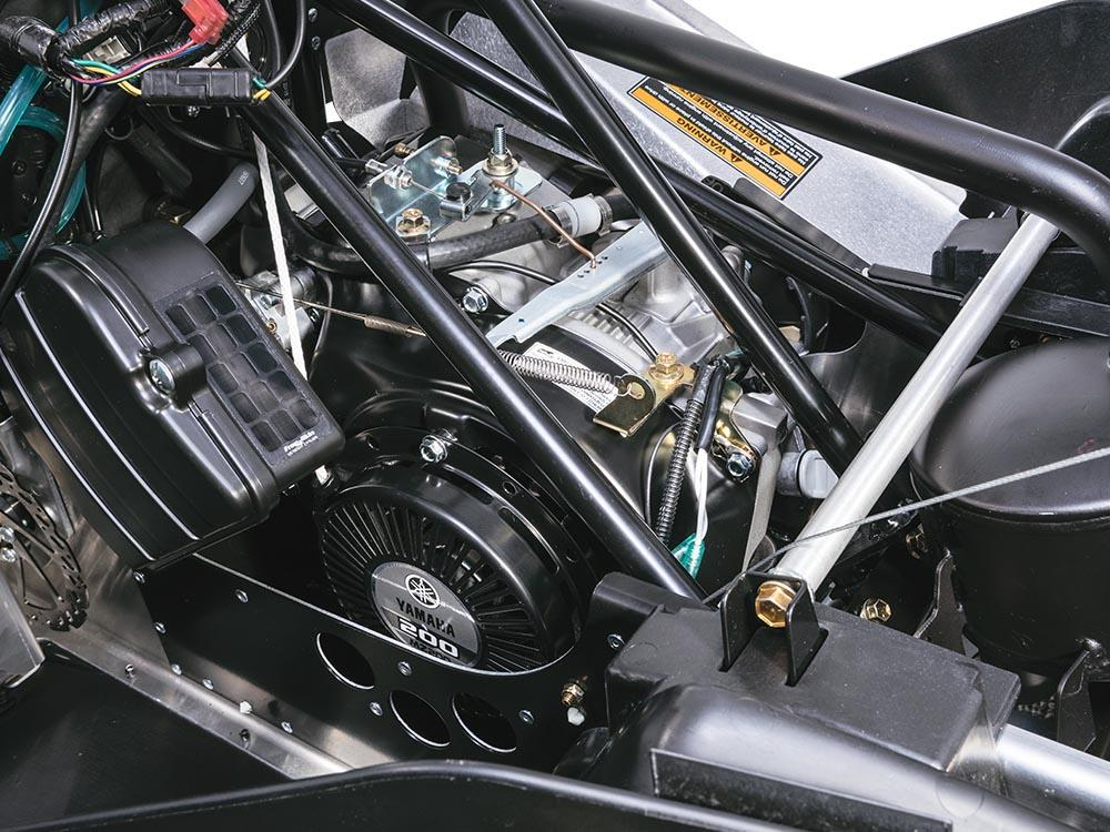 ZR 200 192 cc motor