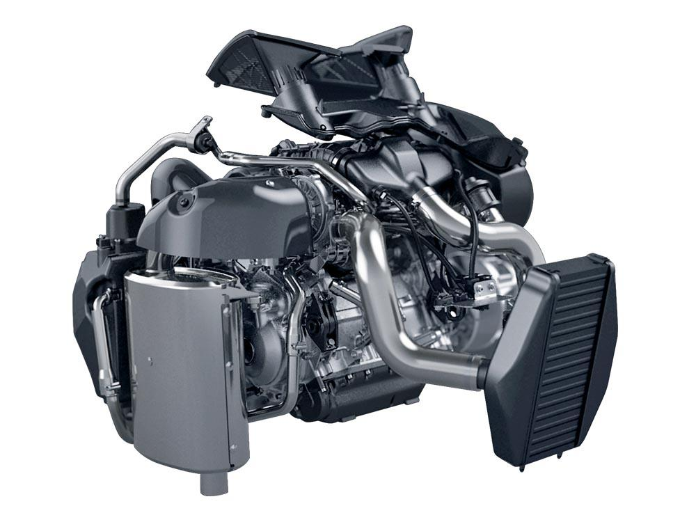 ZR Thundercat 9000 C-serien Tec4- turbomotor