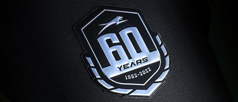 Dekal för 60-års jubileum