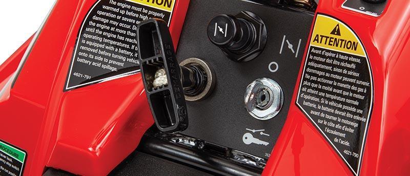 Start för vänd för ZR 200 nyckel- elektrisk
