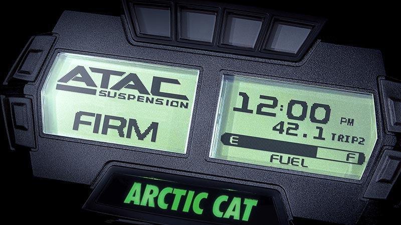 Digital skärm för ATAC